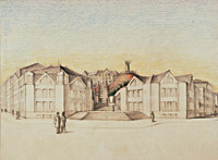 Design for the rebuilding of the Vyšehrad Citadel, Prague
